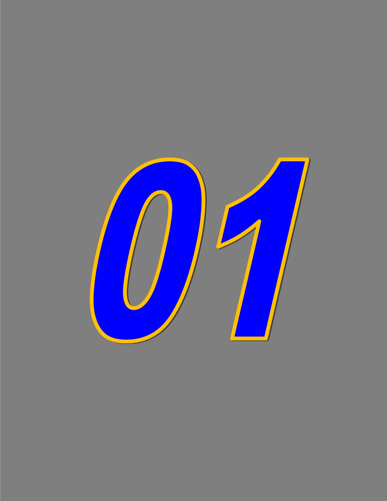 Number 01
