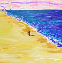 No.018〈海灘〉