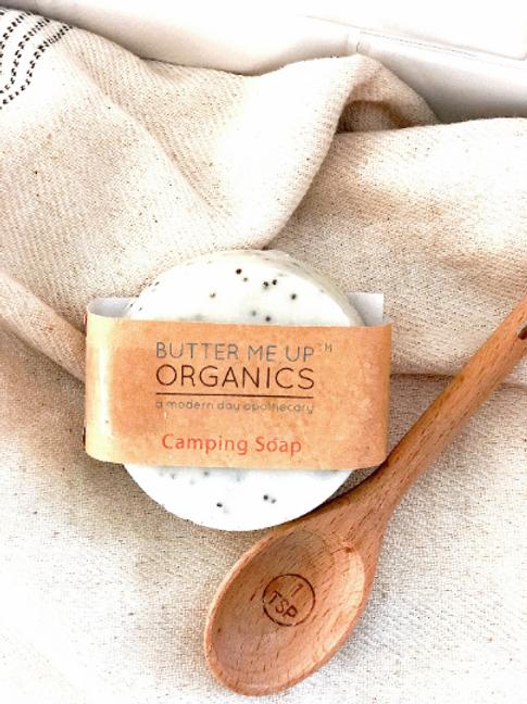 Organic Camping Soap- Bug Repellant/Shampoo Bar