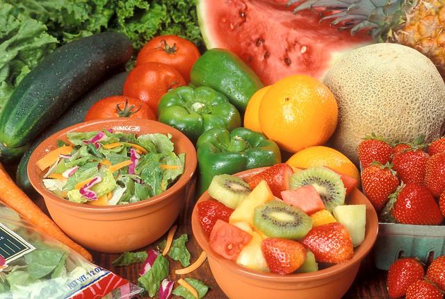 Fruit, vegetable