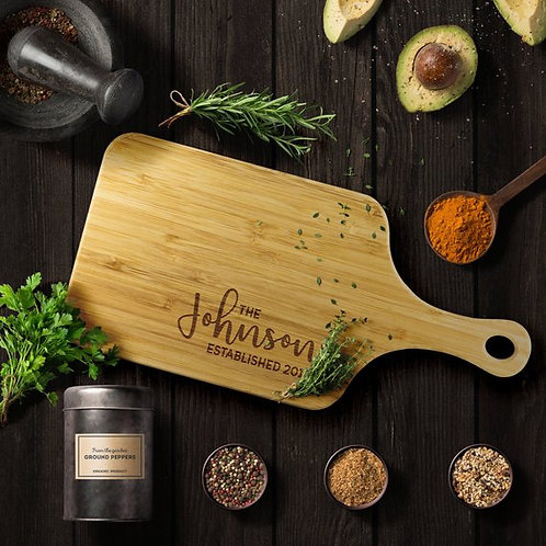 Chopping Board - Custom Engraved and Eco-Friendly