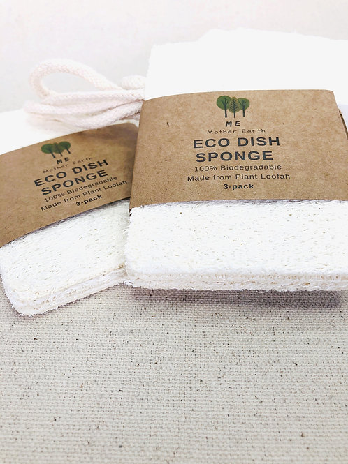 Eco Dish Sponges: Double Layer 3-Pack