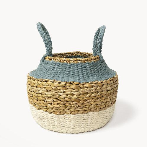 Ula Blue Foldable Basket