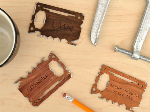 Multi Tool - with Custom Engraved Monogram or Message