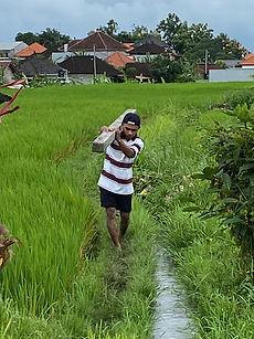 La vida en un pueblo de Bali
