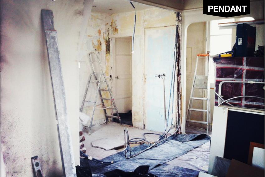 Rénovation 47m2 à Pigalle © lalaklak, décoratrice et architecte d'intérieur Lyon 4 Croix-Rousse