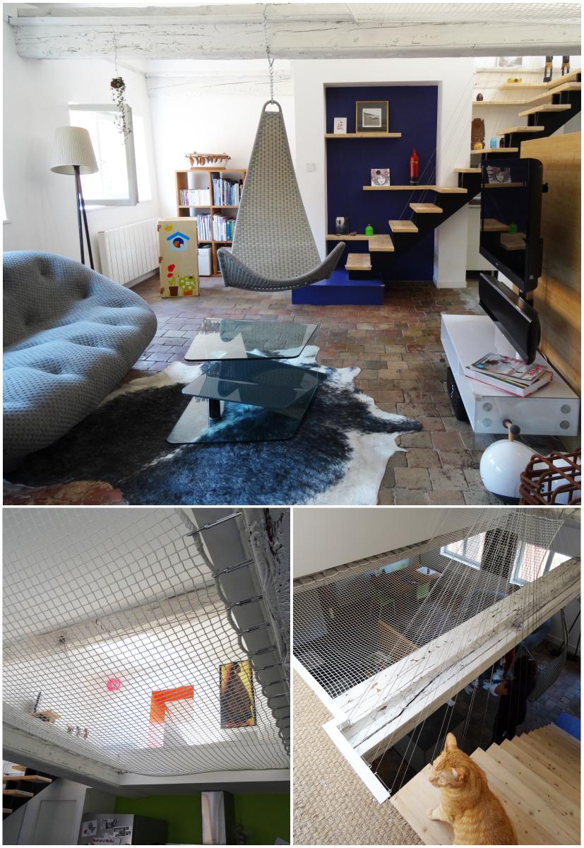 © architecte Aurélie Nicolas / photos : lalaklak, décoratrice et architecte d'intérieur Lyon 4 Croix-Rousse