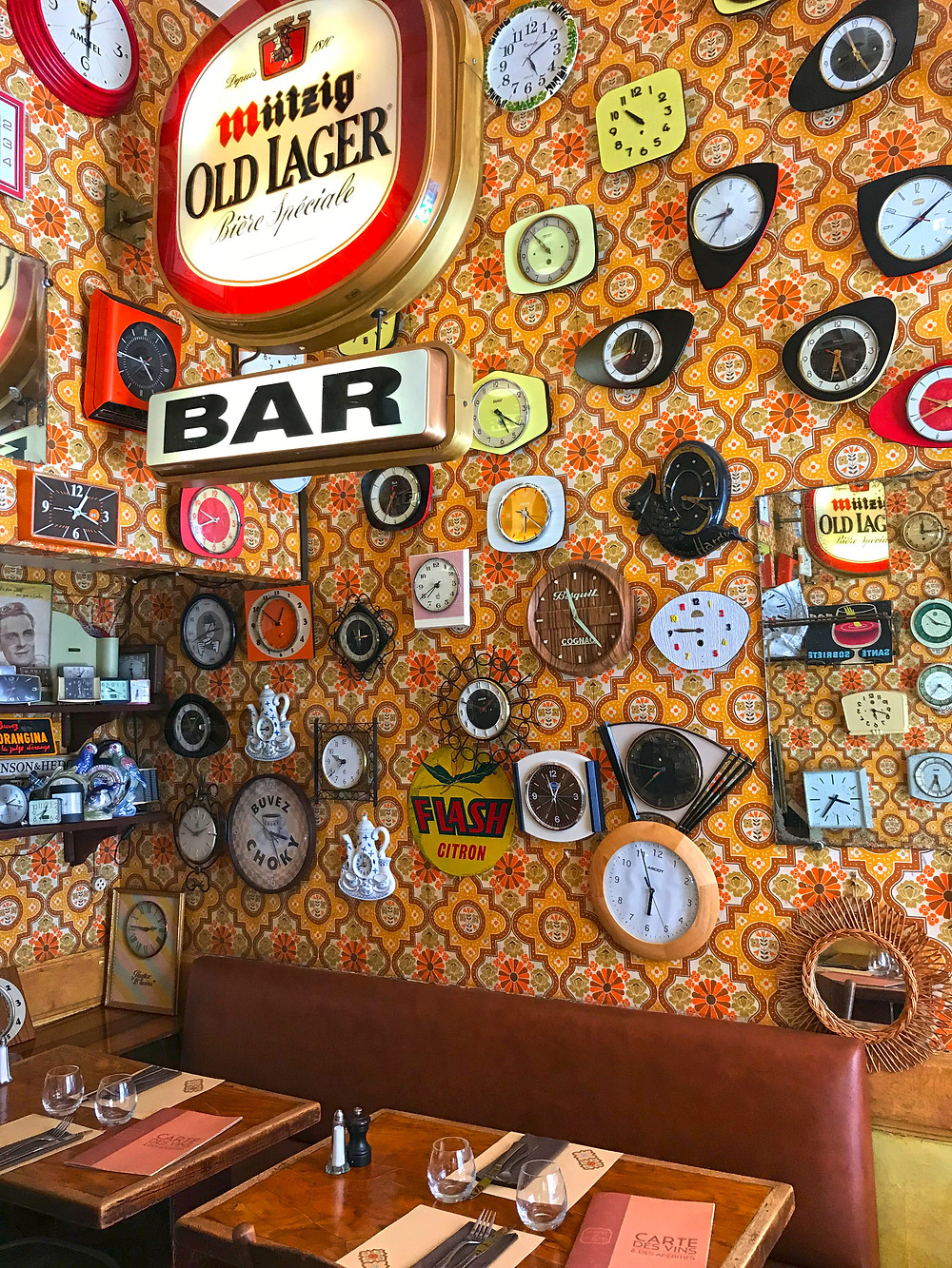 Restaurant Le Canut et les Gones, Lyon,