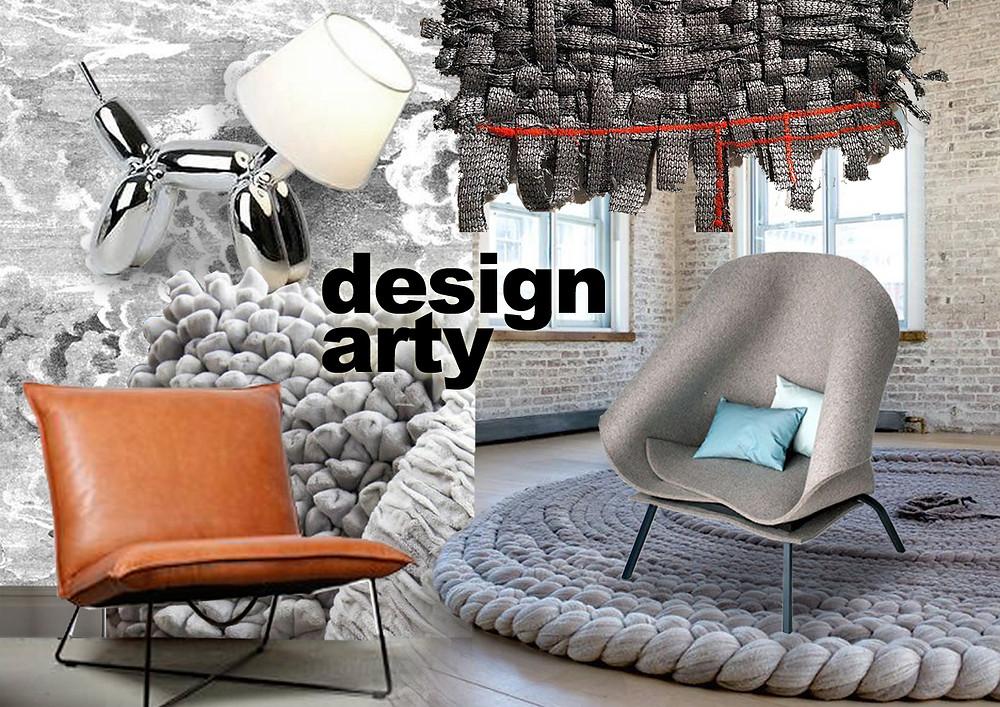 Design Arty © lalaklak, décoratrice et architecte d'intérieur Lyon 4 Croix-Rousse