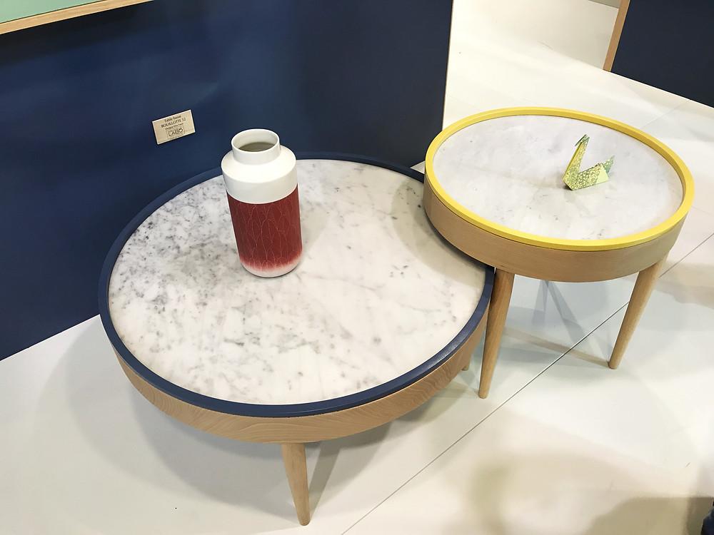 Tables Bouillote de chez Drugeot Labo © lalaklak, décoratrice et architecte d'intérieur Lyon 4 Croix-Rousse