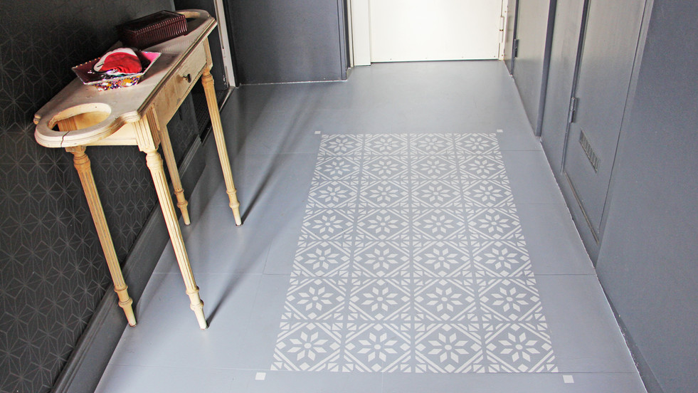 Après le tapis de sol, le tapis dans le sol