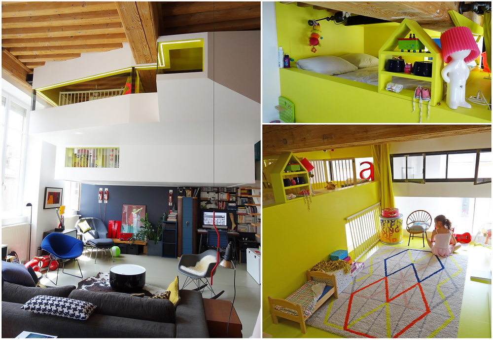 © architecte Jacques Rival / photos : lalaklak, décoratrice et architecte d'intérieur Lyon 4 Croix-Rousse