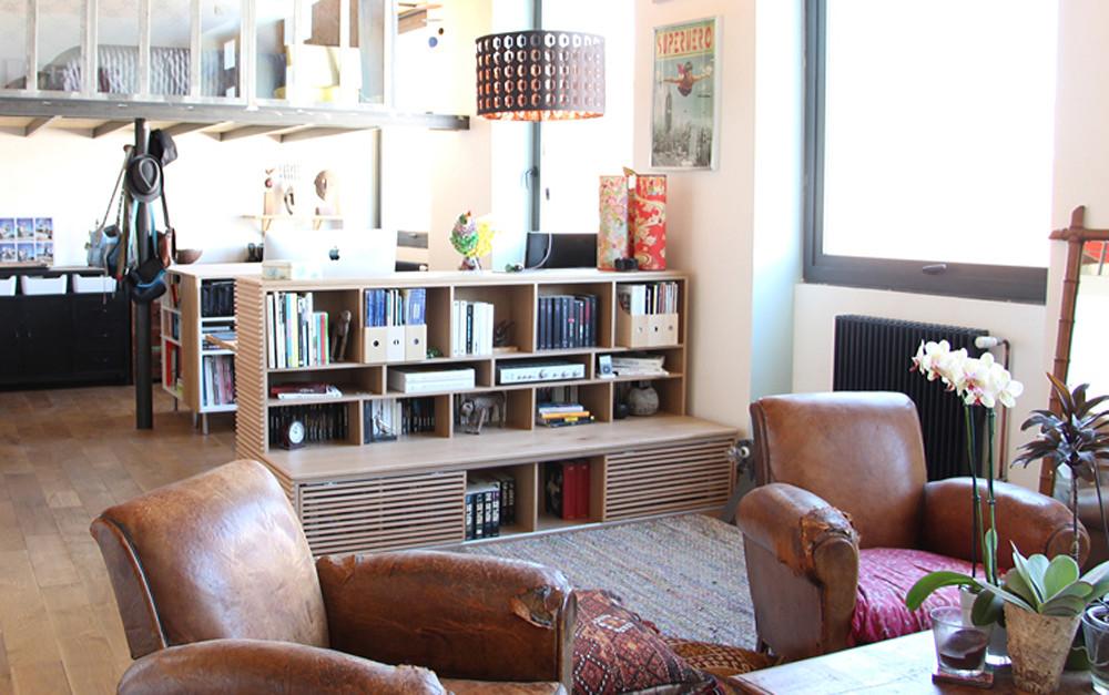 Meuble sur-mesure © lalaklak, décoratrice et architecte d'intérieur Lyon 4 Croix-Rousse