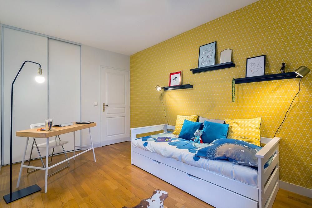 Chambre enfant © lalaklak, décoratrice et architecte d'intérieur Lyon 4 Croix-Rousse