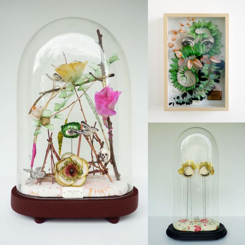© Lyndie Dourthe. Trophées & cabinets de curiosités. lalaklak, décoratrice et architecte d'intérieur Lyon 4 Croix-Rousse