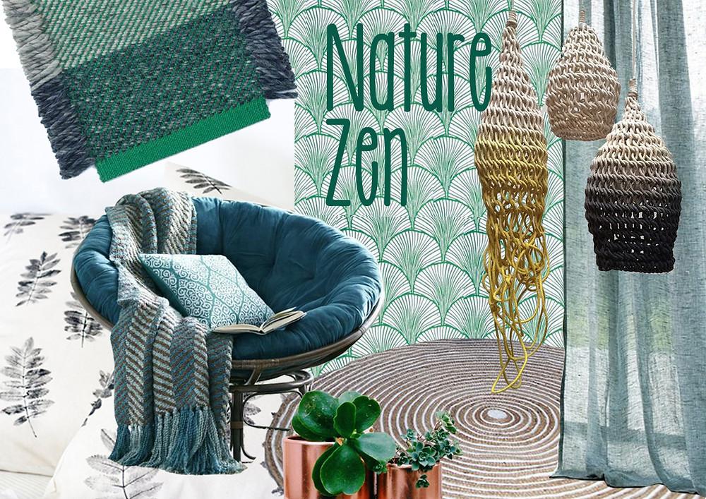 Nature Zen © lalaklak, décoratrice et architecte d'intérieur Lyon 4 Croix-Rousse