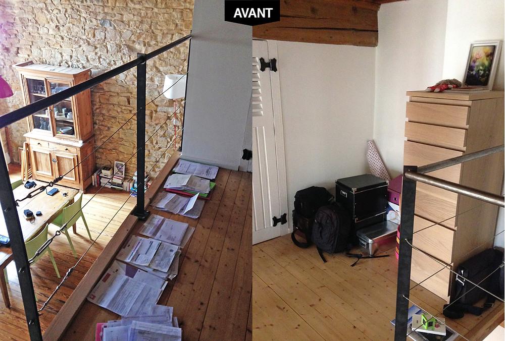 Dessus-dessous pour un canut © lalaklak, décoratrice et architecte d'intérieur Lyon 4 Croix-Rousse