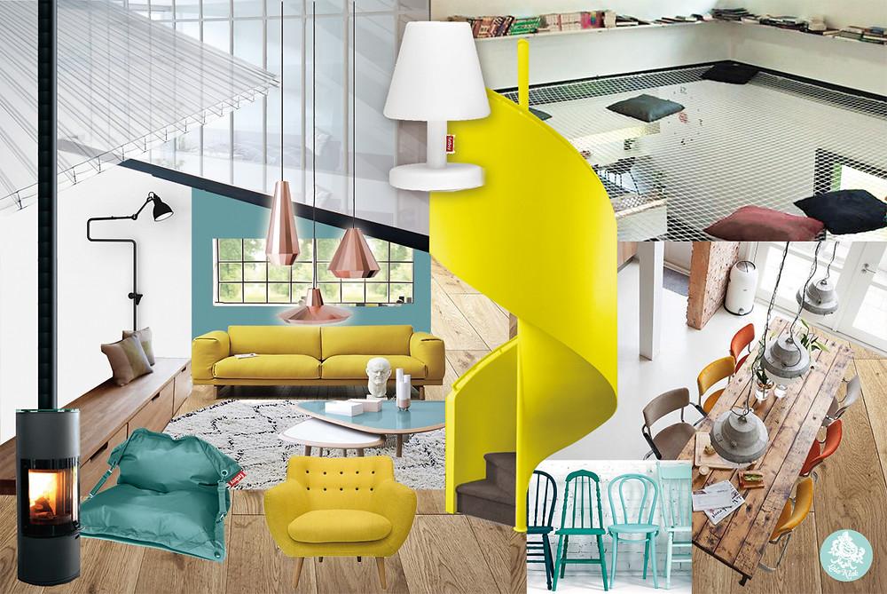 Ambiance Soleil scandinave © lalaklak, décoratrice et architecte d'intérieur Lyon 4 Croix-Rousse