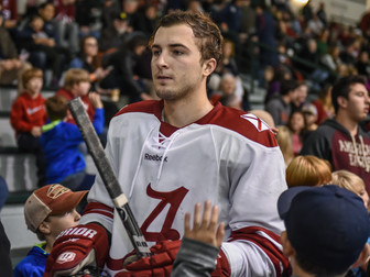 Senior Sam Messina to Return to Ice Against Rutgers on Saturday Afternoon