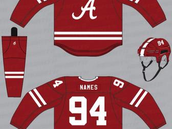 Alabama Hockey to Sell Replica Jerseys
