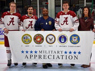 Alabama Hockey To Host Military Appreciation Night
