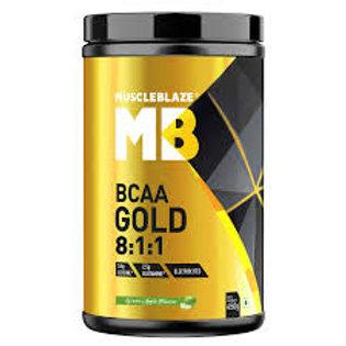 MuscleBlaze BCAA Gold 8:1:1, 0.99 lb, Fruit Punch, 30 Servings