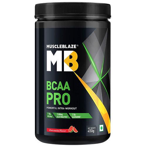 MuscleBlaze BCAA Pro, 0.99 lb, Fruit Splash, 30 Servings