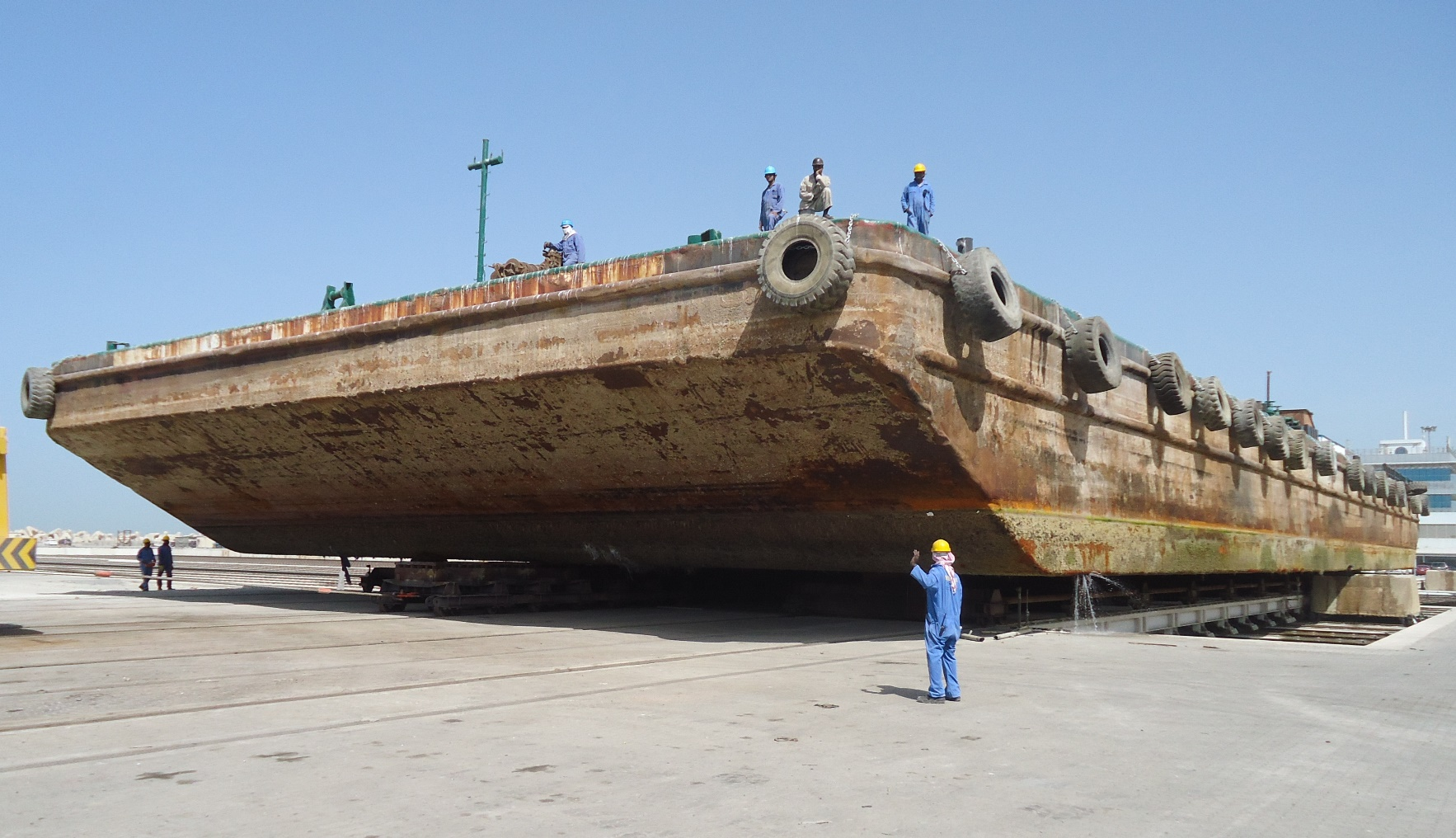 Vessel Conversion Project