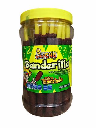 Banderilla Tamarindo Micho 40 piezas