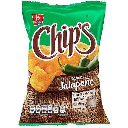 Chips Jalapeño 170 g