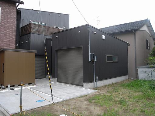 新潟市 注文住宅 ビルトインガレージのある家 設計事例写真