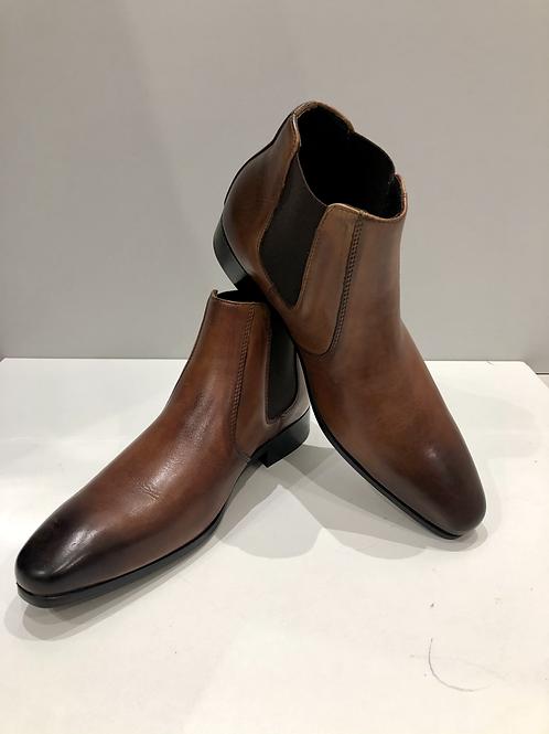 Palenzo | Boots en cuir marron