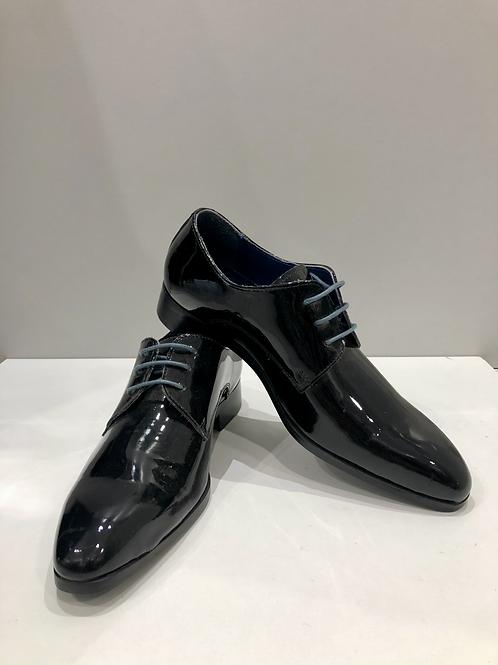 Palenzo | Chaussure de ville, vernis noir