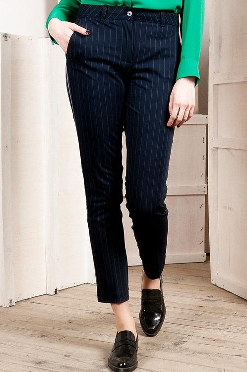 Indies | Pantalon droit bleu marine