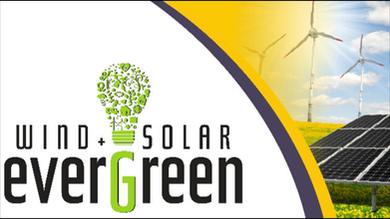 Wind & Solar Evergreen