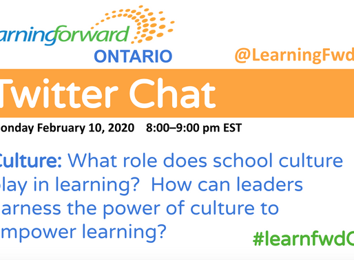 #learnfwdON Twitter Chat