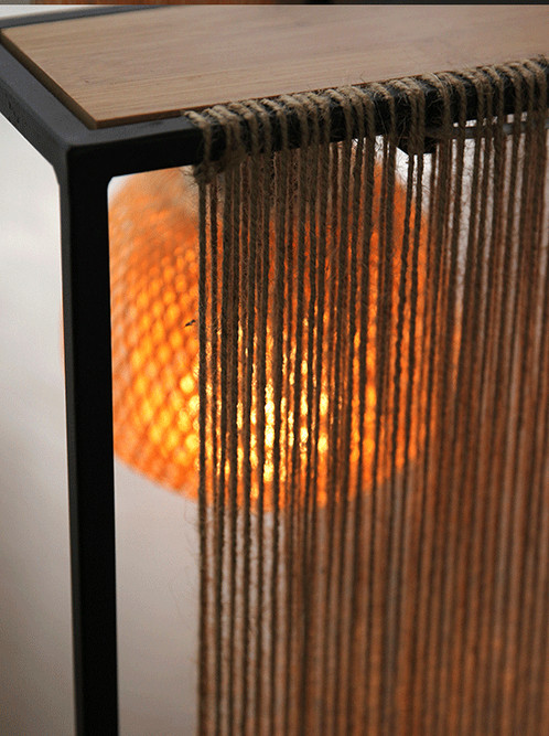 EARTH AND HUMAN NATURAL BAMBOO LAMP FOR BEDROOM