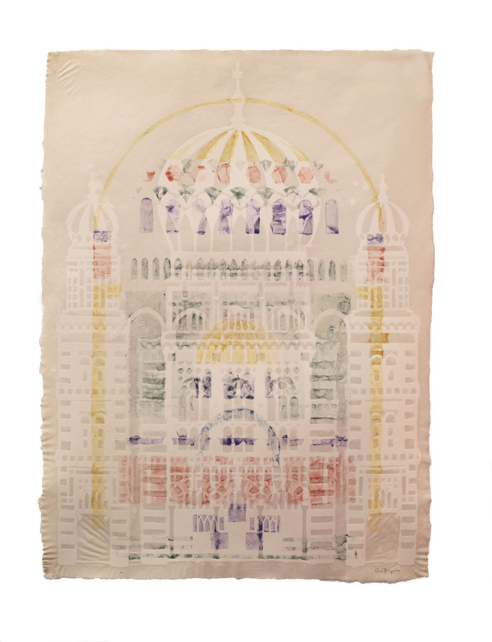Neue Synagogue (stencil)