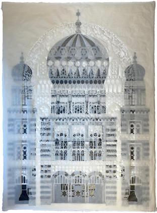 Neue Synagogue (graphite)