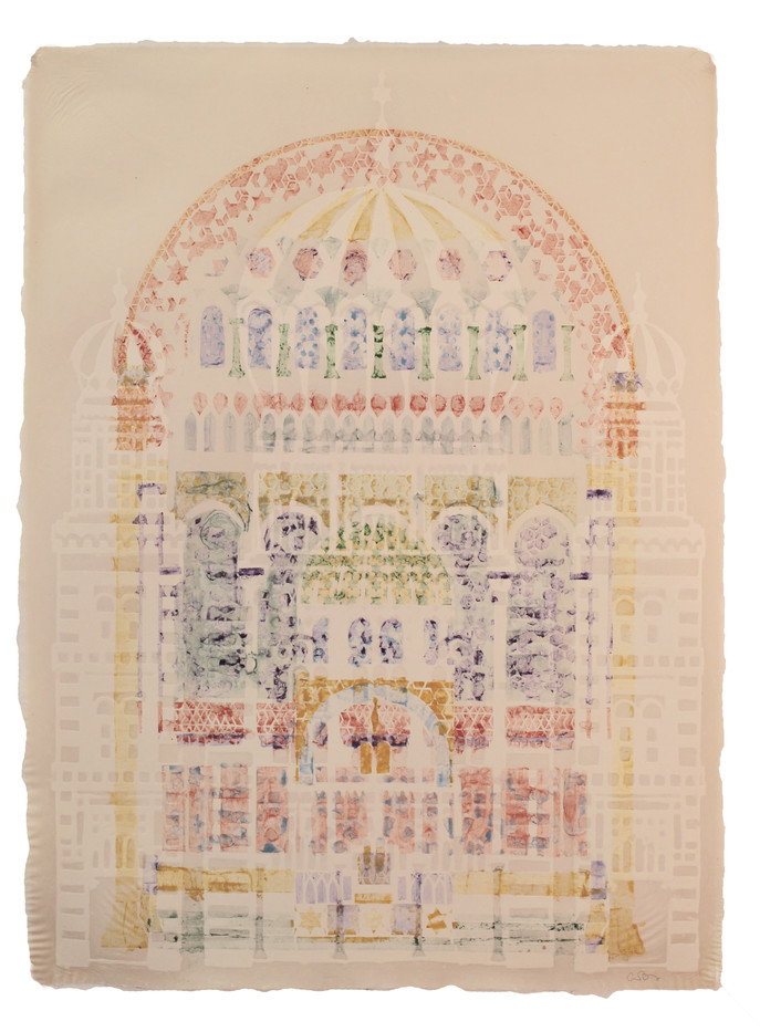 Neue Synagogue (stencil and pattern)
