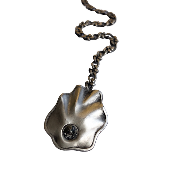 Silver Sea Shell Necklace