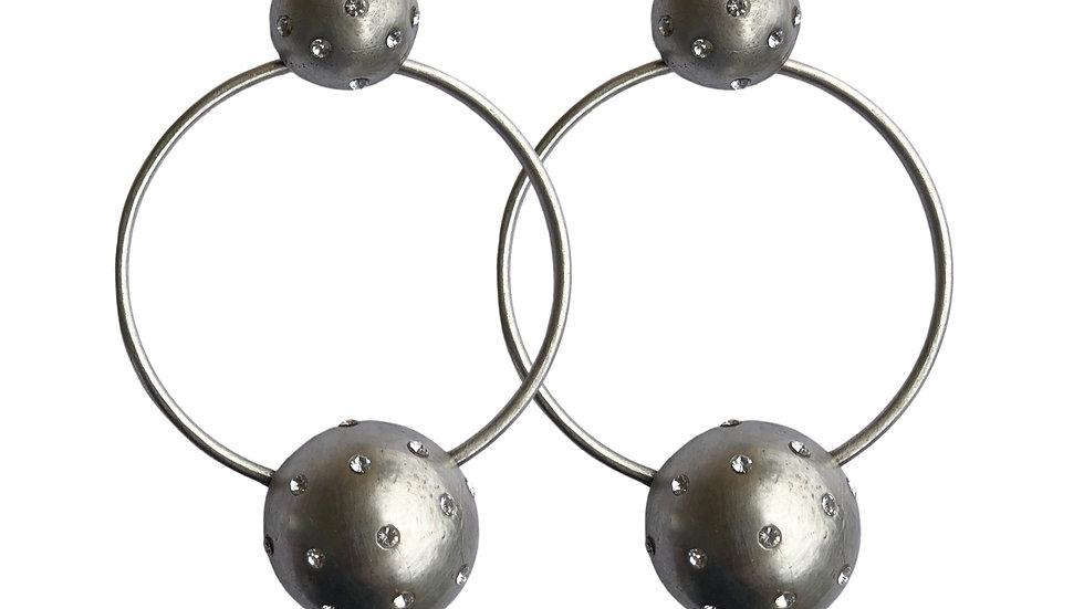 Incolor Crystal Earrings