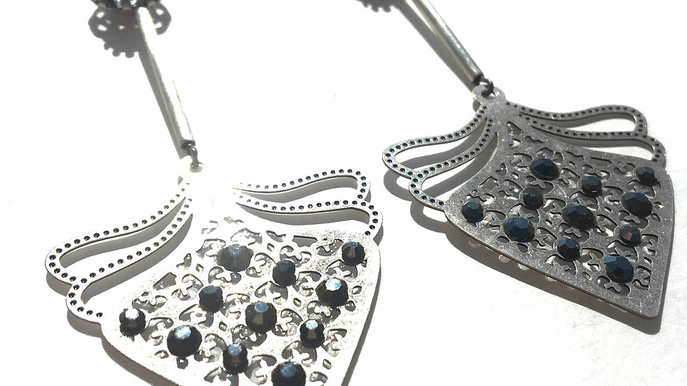 Silver Metal Drops