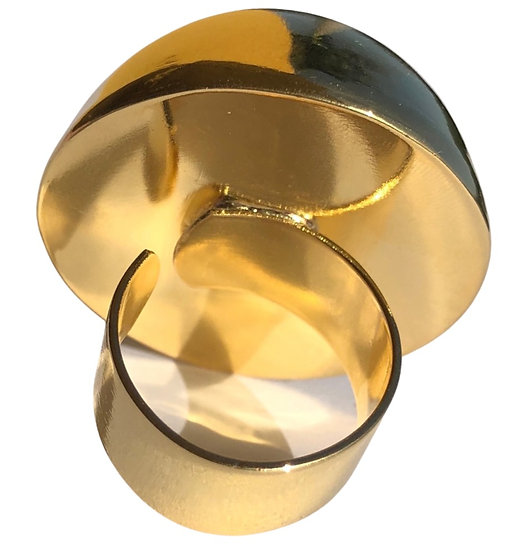 Brass Gold Plated Ring