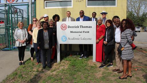 Academie Lafayette Field Dedication