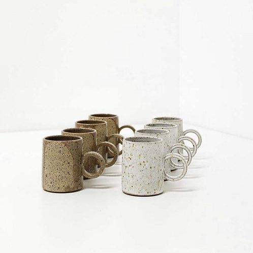 CIRCULAR HANDLED ESPRESSO CUPS
