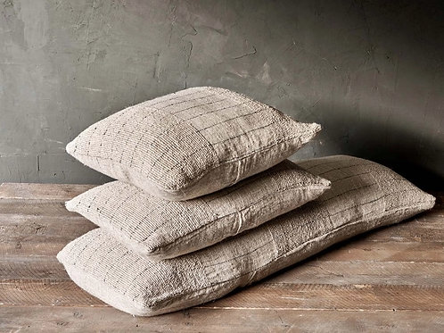 MYLA LINEN + COTTON CUSHION