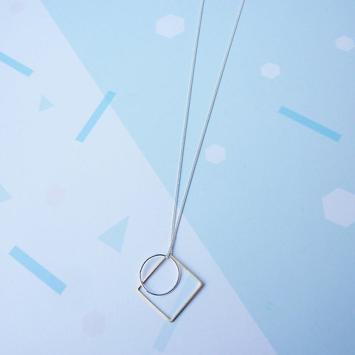 SHAPES SILVER NECKLACES