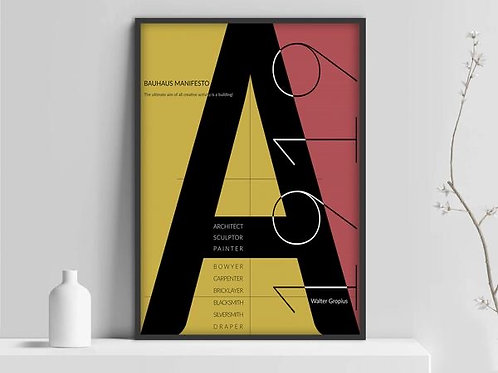 BAUHAUS EXHIBITION POSTERS