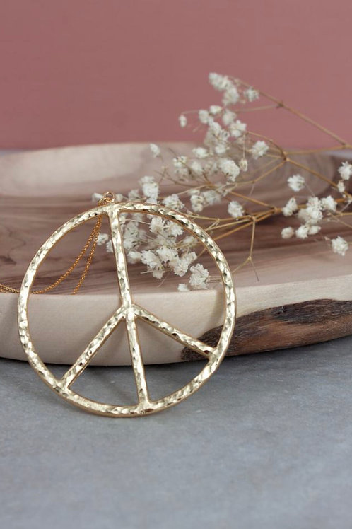 GOLD PEACE PENDANT